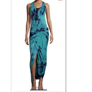 Young Fabulous & Broke Maxi Tie Dye Dress M Medium